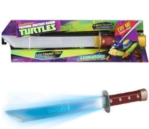 Teenage Mutant Ninja Turtles Tmnt Playmates Leonardos Espada electrónica