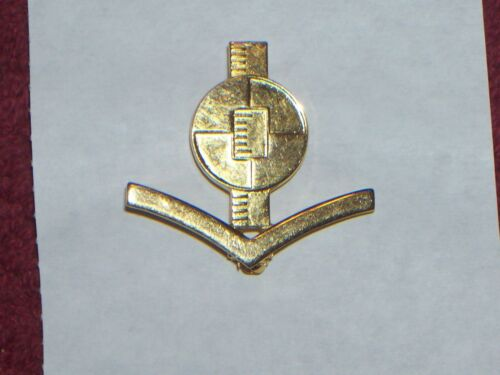 CLASS RATE HAT PIN W// PIN BACK ORIG VIETNAM ERA NAVY ENGINEERING AIDE 3rd