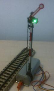 Marklin-H0-7039-elt-signal-principal-1-mobile-Aile-illumine-teste
