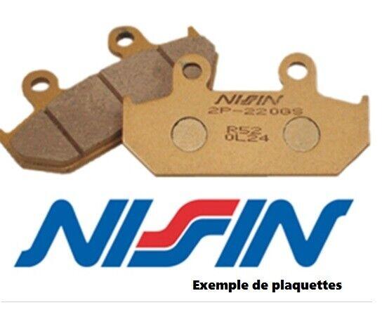 Plaquettes frein moto avant NISSIN Aprilia ETV 1000 Caponord 2001-2007