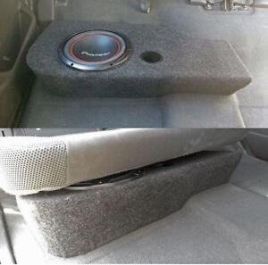 nissan navara d40 dual cab sub box 10inch subwoofer fibreglass