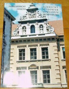 Regensburg-1998-99-Jahresbericht-Albrecht-Altdorfer-Gymnasium-Geschenk-Abi