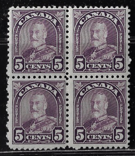 Canada Stamps — 1930, King George V