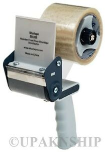3-PACKAGING-CARTON-SEALING-TAPE-DISPENSER-HAND-HELD-HEAVY-DUTY-W-Expedited-Shi