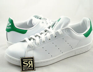 more photos 8cd7b 48ae8 Details about New adidas Originals Men Stan Smith Shoes Running White  Fairway M20324 Green
