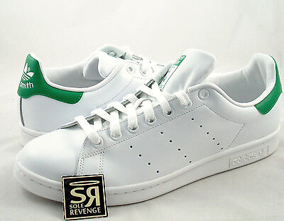 Neuf Adidas Originals Hommes Stan Smith Chaussures Running White Fairway M20324 Vert | eBay