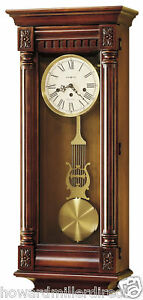 Howard-Miller-620-196-New-Haven-Chiming-Cherry-Wall-Clock-620196