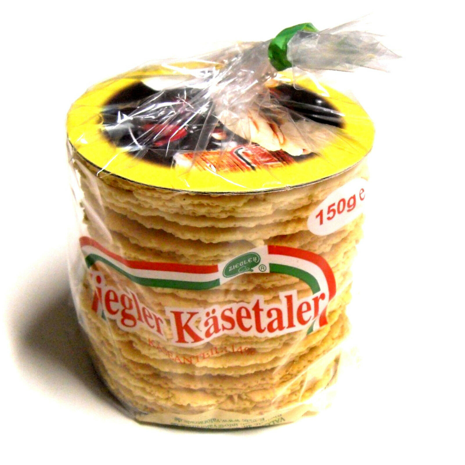 Ziegler Käsetaler natur 4x150g Käsegebäck Knabberei Waffeln