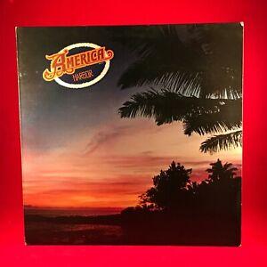 AMERICA-Harbor-1977-UK-vinyl-LP-POSTER-EXCELLENT-CONDITION-George-Martin
