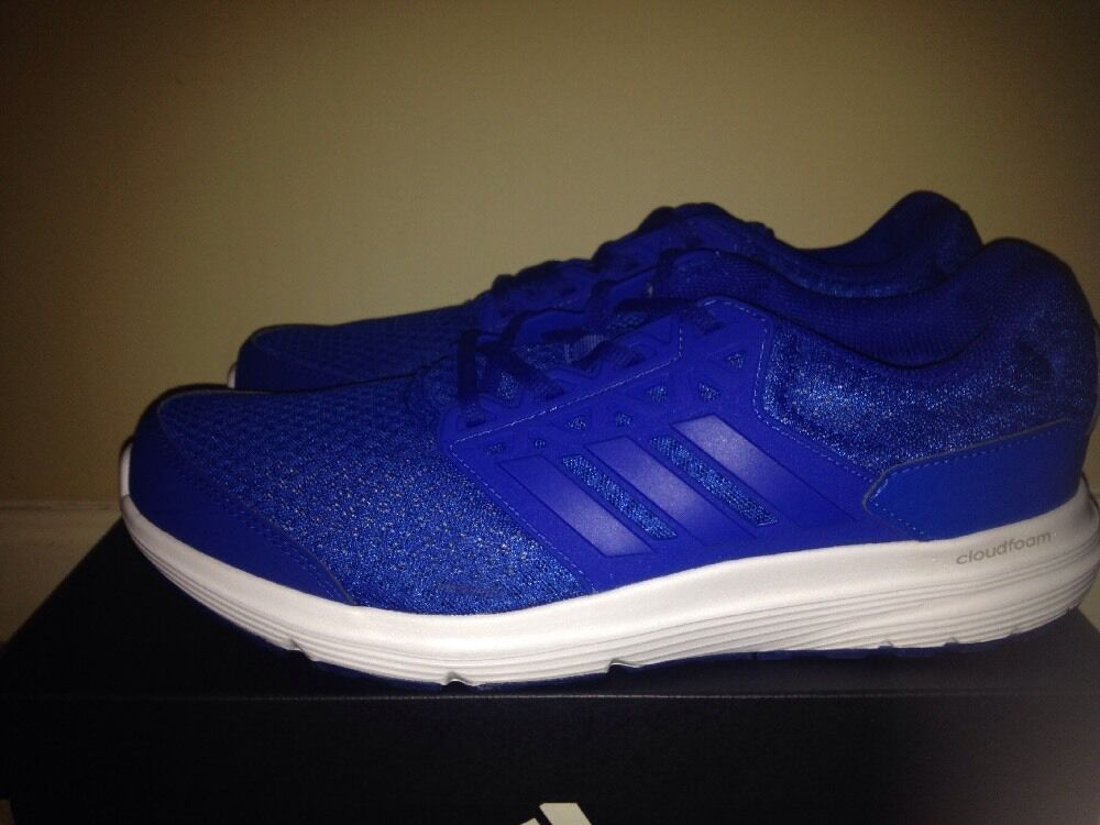 ADIDAS MEN Sz 10.5 Galaxy 3M College Royal Blue BB4361 Running Trainers SNEAKERS