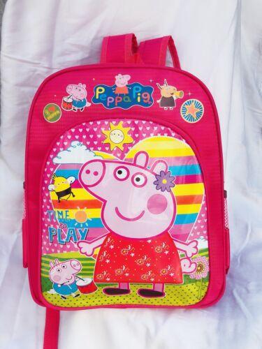girl Backpack Peppa Pig Child backpack pink