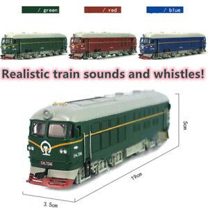 1-87-Simule-alliage-Train-Locomotive-Modele-Tirez-jouet-sonore-musique-lumieres-A-faire-soi-meme