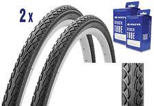 2X Reifen für Trekking oder City Bike 28 x 1.50 mit Schlauch, mit Pannenschutz