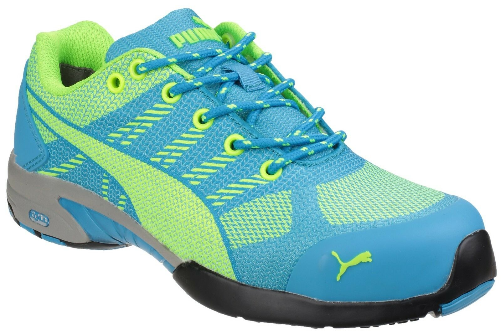 Puma Safety Women safety Trainer Woven Safety KNIT Textile Upper Blue 642900