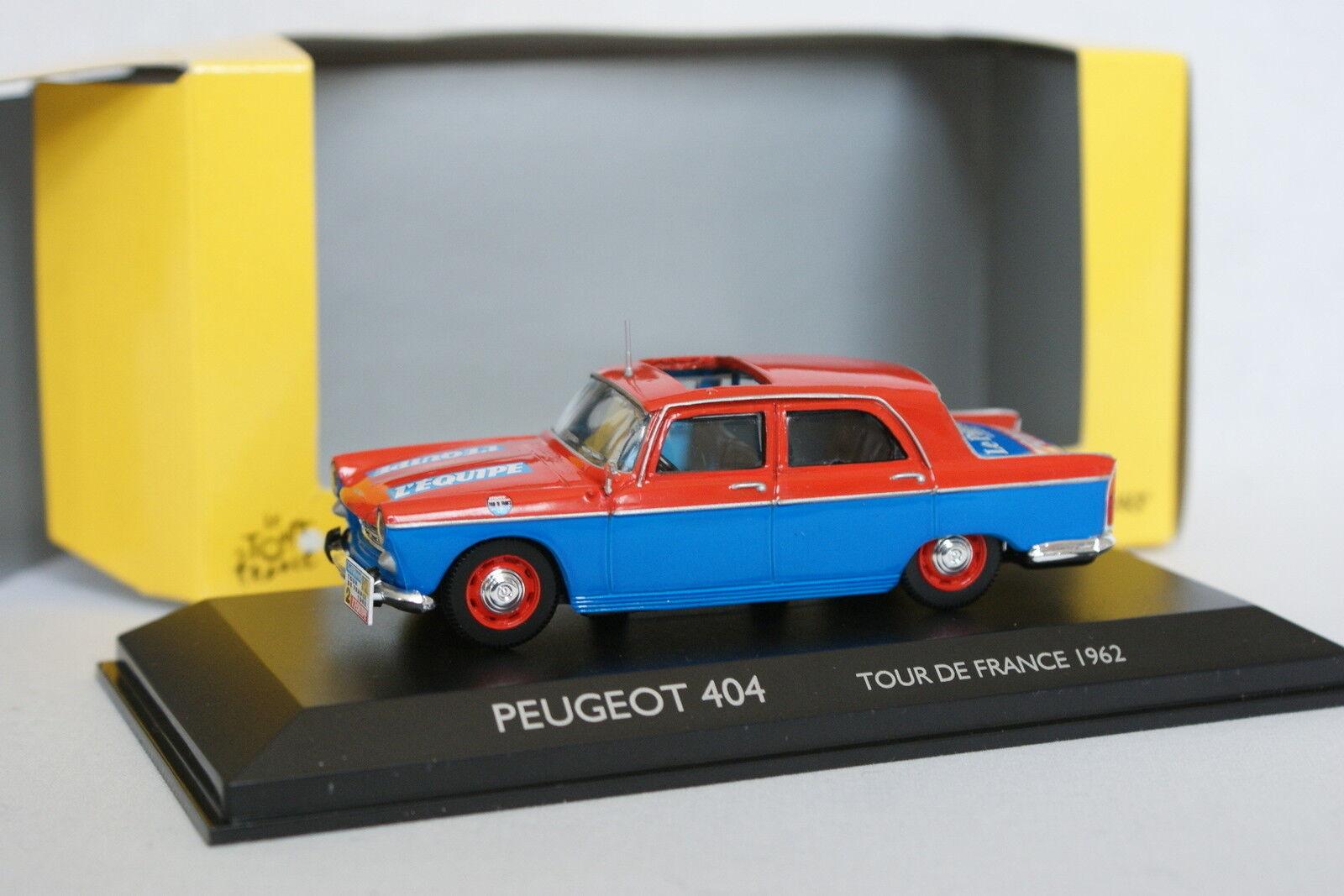 Norev 1 43 - Peugeot Peugeot Peugeot 404 Tour de France 1962 40a315