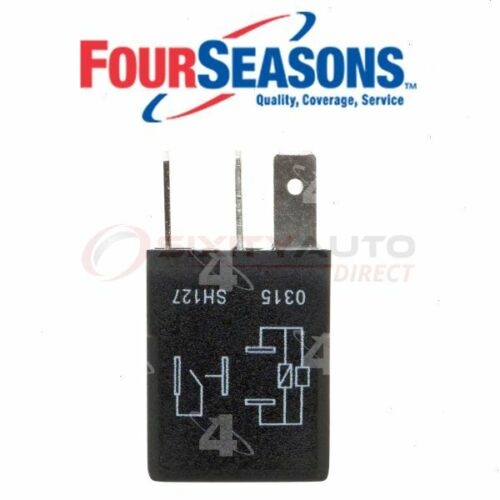 Four Seasons AC Compressor Cut-Out Relay for 1998-2001 Chevrolet Metro jd
