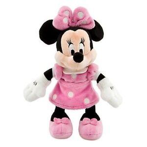 Officel Disney à Conserver Minnie Mouse 22.9cm Mini Bean Bag Peluche Pas De Frais à Tout Prix