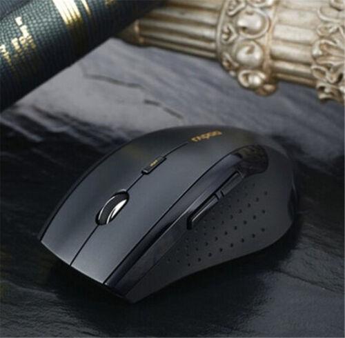 New 2.4GHz 6D 1600DPI USB Wireless Optical Mouse Mice For Laptop//Desktop//PC