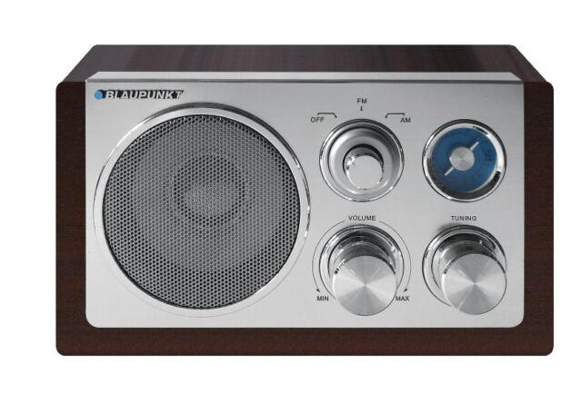 Blaupunkt RX18 Retro Design Radio für Küche Arbeitszimmer oder Büro UKW/MW-Tuner