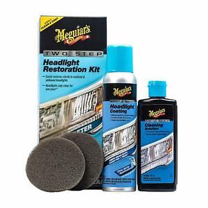 Meguiar-039-s-G2970-Two-Step-Keep-Clear-Headlight-Restoration-Coating-Spray-Kit