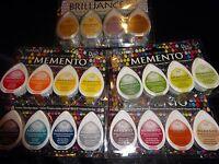 Tsukineko 4 Sets Of Dew Drop Ink Pads Buy 1 Or All 5 Sets Including Brilliance