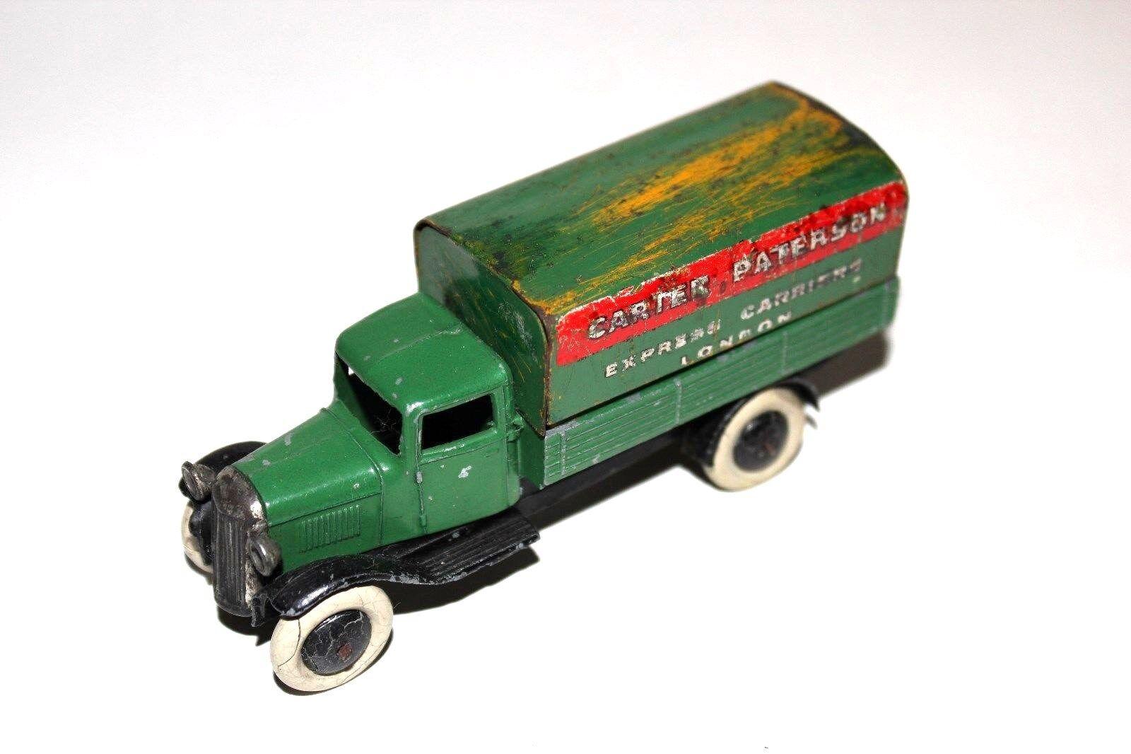 DINKY TOYS Pré/Post War Carter & Paterson Type 2 wagon wagon wagon couvert Nº 25B RARE!!! | De Qualité Constante  acecf9