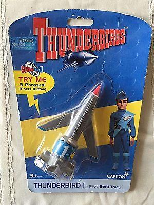 Thunderbird 1 Pilot New On Card RARE Scott Tracy 1999 Soundtech Carlton