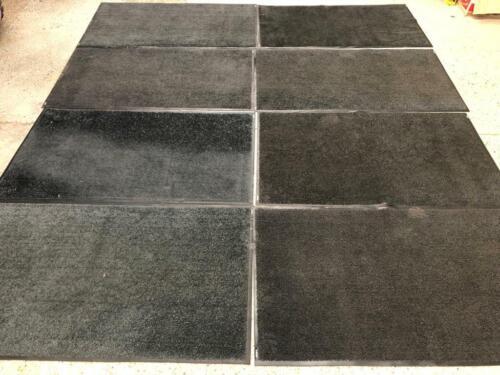 Protect Patio Decking Floor Grade A 8 x 5ft by 3ft Dark Grey Garden Patio Mats