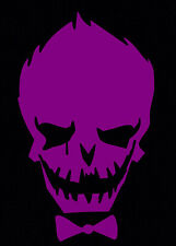 Purple Joker Decal Car Sticker Laptop Dc Comics Harley Quinn Suicide Squad