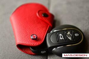 Red-leather-Case-for-2014-on-model-MINI-Cooper-S-F54-F57-F60-New-Countryman-JCW