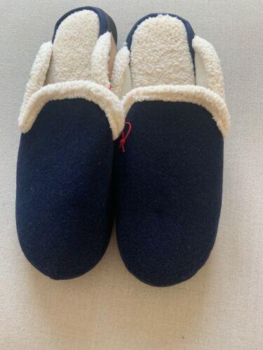 Navy Women/'s dluxe by dearfoams Slippers Size XL 11-12