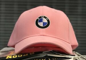 b5084089b19 New! Pink BMW Motorsports Baby Pink Hat Cap His And Hers  M Sport ...