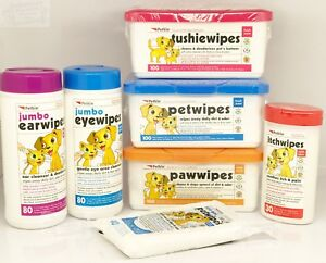 Pet Dog Puppy Wipes Cat Tushie Paw Pet Ear Eye Itch