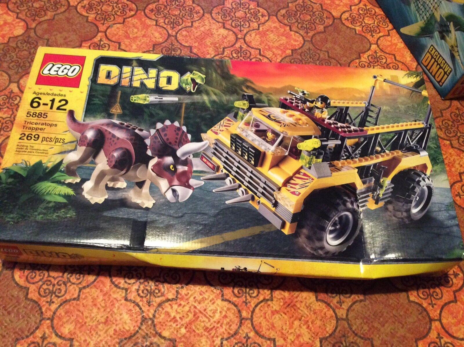 LEGO 5885 Dino Triceratops Trapper nuovo FACTORY SEALED  scatola  consegna veloce e spedizione gratuita per tutti gli ordini