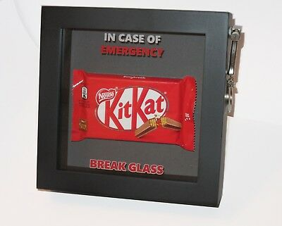 Break Glass Box Frame Personalised In Case of Emergency