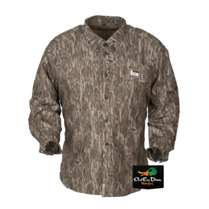644a9f7bf2ec4 Image is loading NEW-BANDED-GEAR-MID-WEIGHT-HUNTING-SHIRT-BOTTOMLAND-