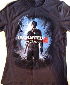 T-shirt Uncharted 4 /'A Thief/'s end/'