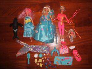 2 Barbie & Kelly E Accessori Barbie Canto Di Usignolo Barbie Ginnastica Technologies SophistiquéEs