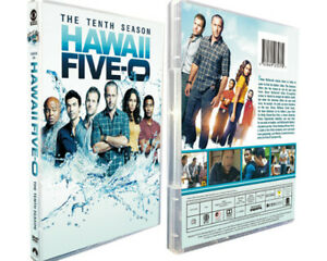 Hawaii Five-0 Season 10 (DVD Box Set, Region 1, 5-Disc) Brand New & Sealed