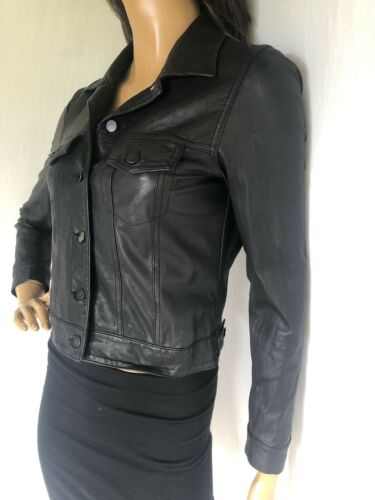 Short Black Moto S 725 Size Gryphon Cool Leather Jacket So IfwR4qC