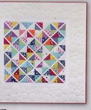 Diamonds /& Grey fabulous modern pieced quilt PATTERN Zen Chic