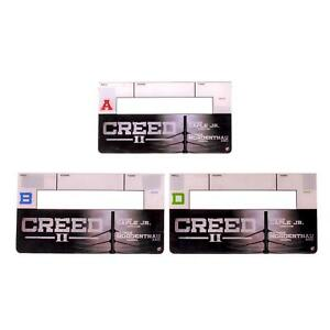 Creed-2-Production-Used-Clapper-Board-Set