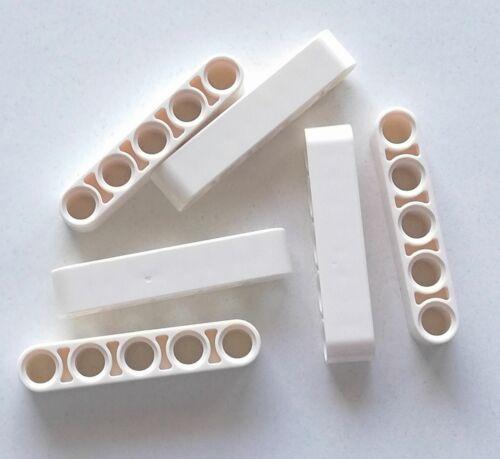 Acquisti! LEGO 6x Technic Liftarm Brick Tondo 1x5 BIANCO 32316 Sped Gratis Su