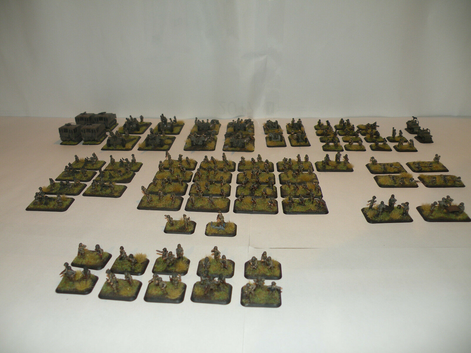 Flames of War American desgarbado rifle Company (100th)
