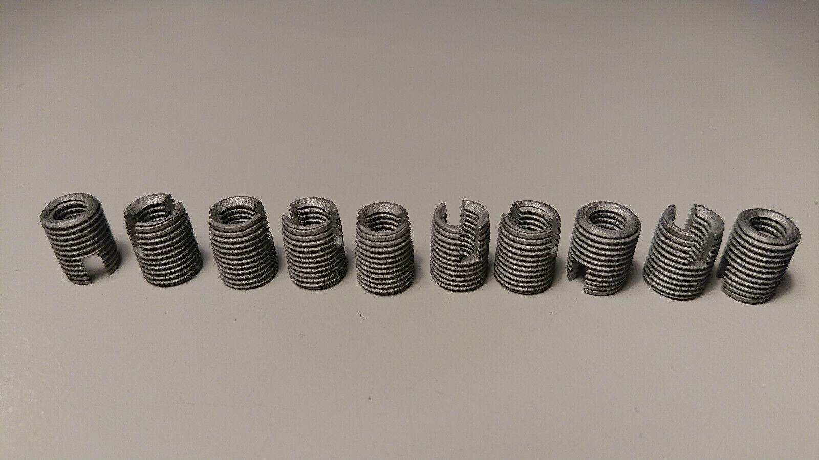 ENSAT-Buchsen Gewindebuchsen Gewindereparatur Gewindeeinsatz M6 x 12-10 Stück