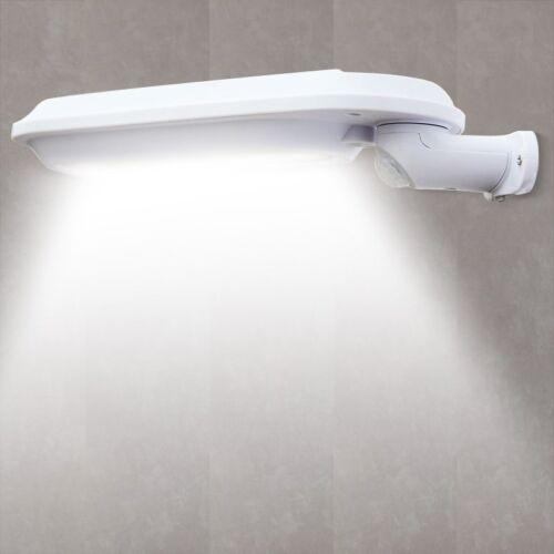 DEL Energie Solaire Mur Lumière Extérieur Jardin Chemin Trottoir Clôture Lampe de Cour 400 lm