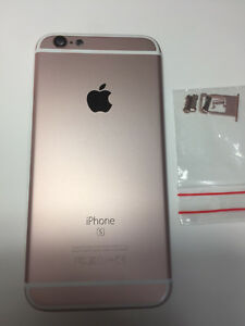 100% authentic 20d44 74e8f Details about ORIGINAL iPHONE 6S BACK REAR COVER METAL HOUSING REPLACEMNT  CASE Rose Gold A1688