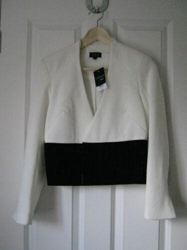 Topshop colourblock//monochrome tailored jacket blazer*BNWT*event*formal*workwear