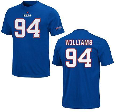 NFL T-Shirt BUFFALO BILLS Mario Williams 94 Receiver Trikot Jersey Football