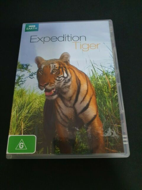 Expedition Tiger (DVD, 2012) RARE - FREE POST!!!